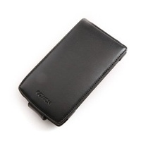 Cowon A3 Black Leather Case