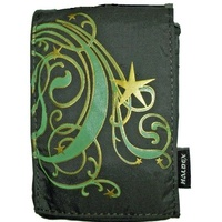 Haldex LM100MN Green Nylon Camera Pouch with Graphic Design