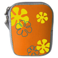 Haldex LM751OE Compact Orange Neoprene Pouch with Graphic