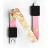 Mohzy USB to Micro USB Loop Cable in Orchid Pattern