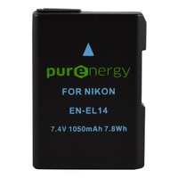 PurEnergy Nikon EN-EL14A Replacement Battery