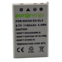 PurEnergy Nikon  EN-EL5 Replacement Battery