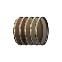 PolarPro DJI Inspire2 46mm Aerial Filters ND 5-Pack Shutter Collection