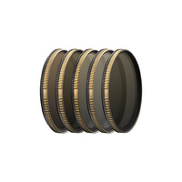 PolarPro DJI Inspire2 46mm Aerial Filters 5 Pack Vivid Collection