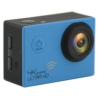 4K WIFI Action Camera Blue @24FPS GoPro Accessories Compatible