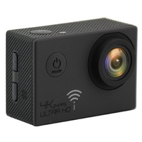 4K WIFI Action Camera @24FPS Black GoPro Accessories Compatible