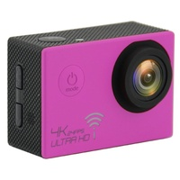4K WIFI Action Camera Pink @24FPS GoPro Accessories Compatible