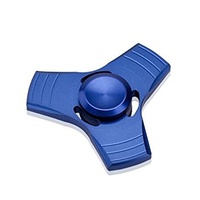 Fidget Spinner Blue Alloy