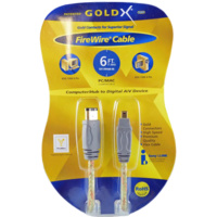 GoldX 6ft 6 Pin M to 4 Pin M